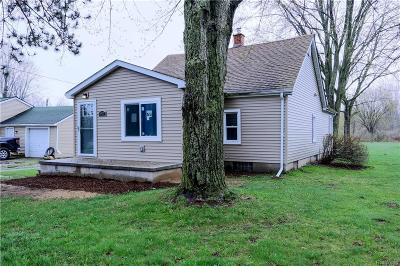 MACOMB Single Family Home For Sale: 50669 North Avenue