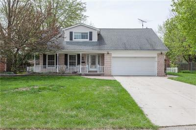 TROY Single Family Home For Sale: 2149 Cumberland Drive