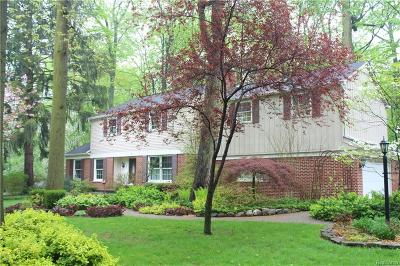 Plymouth Twp Single Family Home For Sale: 47051 Beechcrest Drive