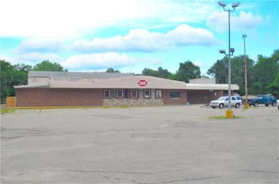 White Lake Twp Commercial For Sale: 1111 Round Lake Road