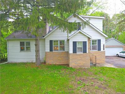 Troy Single Family Home For Sale: 6580 Coolidge Highway