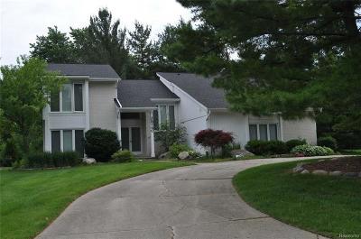Farmington, Farmington Hills Single Family Home For Sale: 28740 Appleblossom Lane