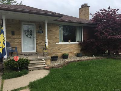 Dearborn Heights Single Family Home For Sale: 3970 Roosevelt Boulevard