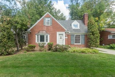 Huntington Woods Single Family Home For Sale: 10754 Borgman Avenue