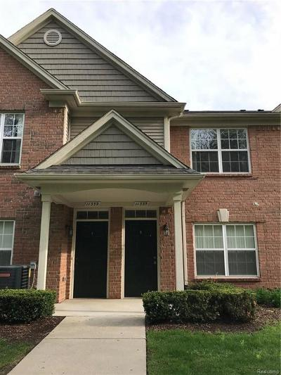 Shelby Twp Condo/Townhouse For Sale: 11335 N Woods Dr.