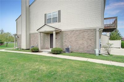 Orion Twp MI Condo/Townhouse For Sale: $129,900