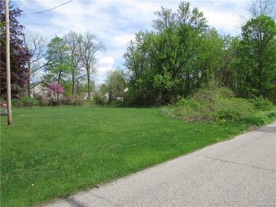 Fenton Residential Lots & Land For Sale: Center Street