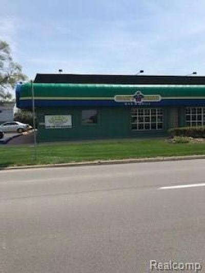 Livonia Commercial For Sale: 19162 Farmington Road