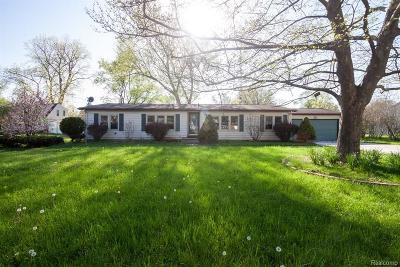 Monroe County Single Family Home For Sale: 7077 Taylor Avenue
