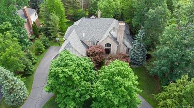 Bloomfield Twp Single Family Home For Sale: 2489 Heronwood Drive