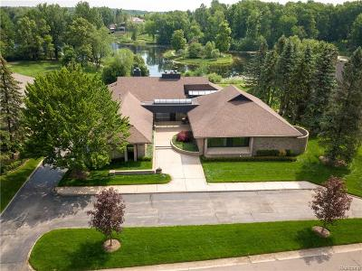 Bloomfield Twp Single Family Home For Sale: 4823 W Wickford