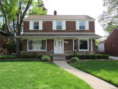 Royal Oak Single Family Home For Sale: 25880 York Road