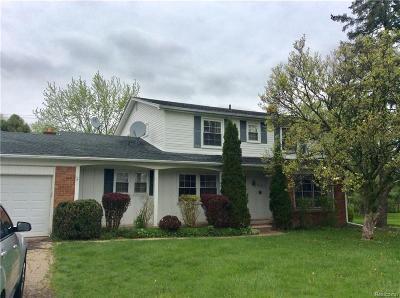 Farmington, Farmington Hills Single Family Home For Sale: 23862 E Newell Circle