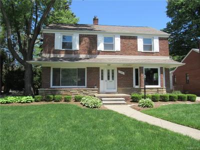 Huntington Woods Single Family Home For Sale: 25880 York Road