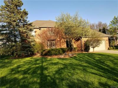 Rochester Hills Single Family Home For Sale: 3120 Burlington Drive