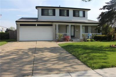 STERLING HEIGHTS Single Family Home For Sale: 3564 Barbara Drive