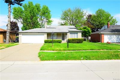 Sterling Heights Single Family Home For Sale: 34850 Dryden Drive