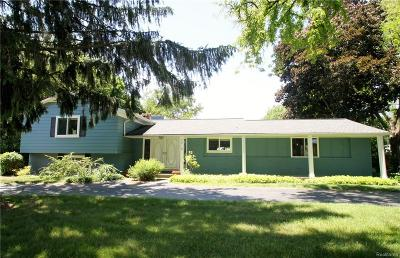 BLOOMFIELD Single Family Home For Sale: 6714 Timber Ridge Drive