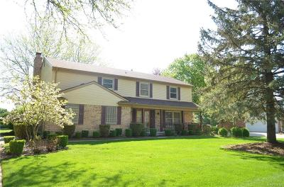 Farmington Hills Single Family Home For Sale: 28842 W King William Drive
