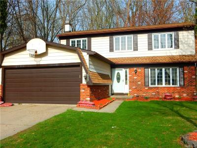 TROY Single Family Home For Sale: 3888 Bristol Drive