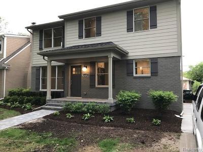 Huntington Woods Single Family Home For Sale: 26005 Allor Avenue