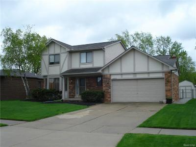 STERLING HEIGHTS Single Family Home For Sale: 4850 Venetian Drive