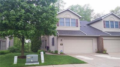 Lake Orion, Orion Twp, Orion Condo/Townhouse For Sale: 264 Stratford Lane W