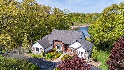 White Lake, White Lake Twp Single Family Home For Sale: 1270 Lake Jason Drive