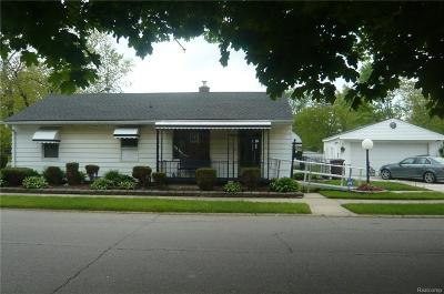 Inkster Single Family Home For Sale: 1380 Central Street