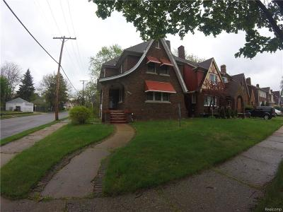 Detroit Single Family Home For Sale: 16260 Wildemere