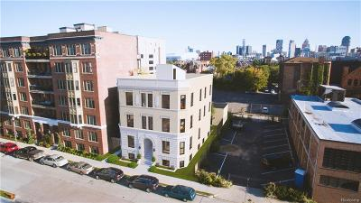 Detroit Condo/Townhouse For Sale: 64 Watson Street #3