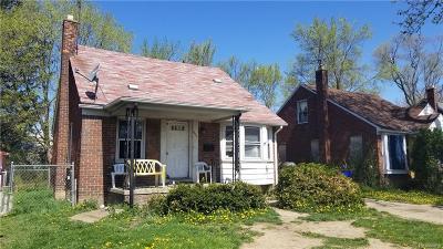 Detroit Single Family Home For Sale: 11707 Nottingham Road