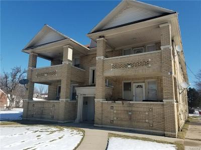 Detroit Multi Family Home For Sale: 13700 La Salle Boulevard