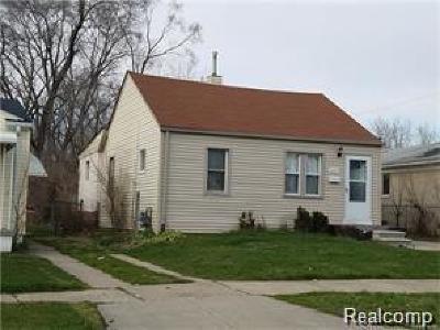 Inkster Single Family Home For Sale: 26064 Lehigh Street