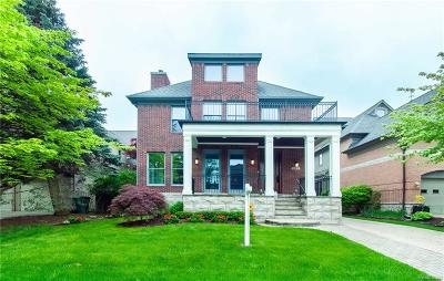 Birmingham Single Family Home For Sale: 592 Henrietta Street