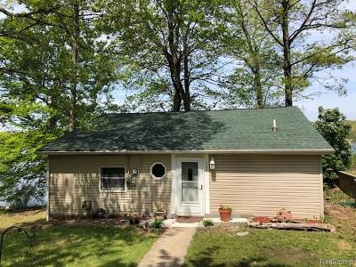 White Lake, White Lake Twp Single Family Home For Sale: 5271 Wayne Road