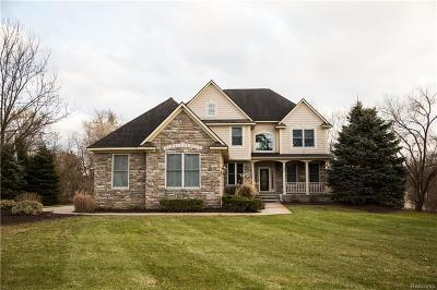 White Lake, White Lake Twp Single Family Home For Sale: 396 Burgess Drive