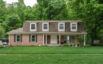 Shelby Twp Single Family Home For Sale: 12248 Craven Avenue