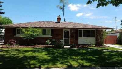 Wayne Single Family Home For Sale: 5049 Harrison Street