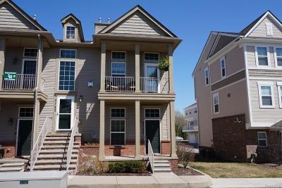 Lake Orion, Orion Twp, Orion Condo/Townhouse For Sale: 3727 W Madison Avenue