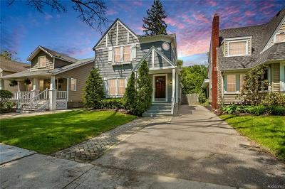Birmingham, Bloomfield Hills Single Family Home For Sale: 708 W Lincoln Street