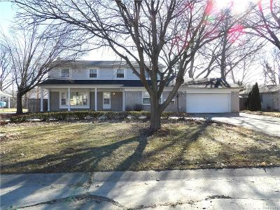 Farmington Hills Single Family Home For Sale: 25342 Wykeshire Road