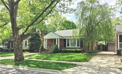 Birmingham Single Family Home For Sale: 1456 E Melton Road