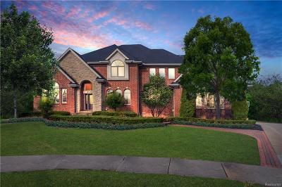 Northville Twp Single Family Home For Sale: 17655 Laurel Creek Court