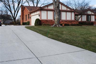 Bloomfield Twp Single Family Home For Sale: 1856 Ledbury Road