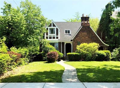 Detroit Single Family Home For Sale: 5116 Audubon Road