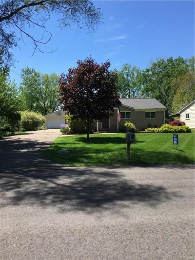 Troy Single Family Home For Sale: 2077 Milverton Drive