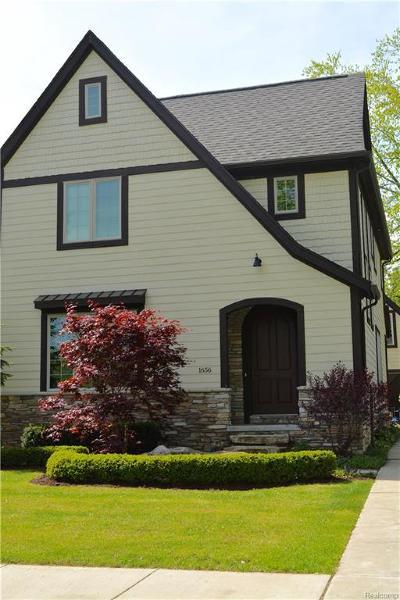 Birmingham Single Family Home For Sale: 1656 Humphrey Avenue