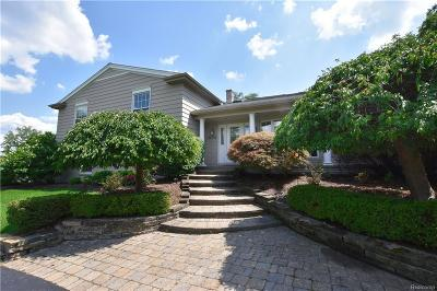 Bloomfield Twp Single Family Home For Sale: 3655 Burning Tree Drive