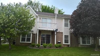 South Lyon MI Condo/Townhouse For Sale: $142,000